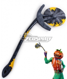 Fortnite Battle Royale Tomato Head Skin Axeroni Pickaxe Cosplay Weapon Prop
