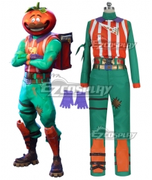 Fortnite Battle Royale TomatoHead Halloween Cosplay Costume