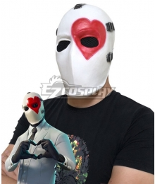 Fortnite Battle Royale Wild Card Hearts Mask Cosplay Accessory Prop