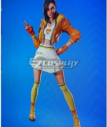 Fortnite Rox Golden Cosplay Costume