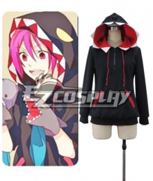 Free Rin Matsuoka shark hoody Cosplay Costume