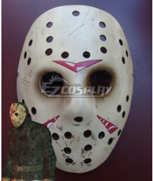 Friday the 13th: The Game Jason Voorhees Halloween Mask Cosplay Accessory Prop