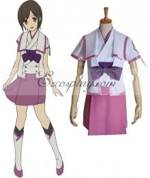 From the New World Saki Uniform Cosplay Costume