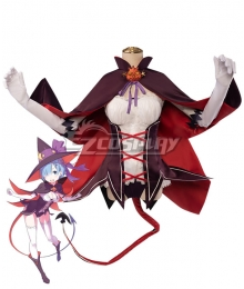 Re: Life In A DiffeRent World From Zero Rem Halloween Little Devil Witch Cosplay Costume