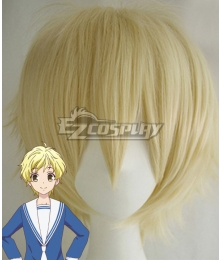 Fruits Basket Momiji Sohma Light Golden Cosplay Wig