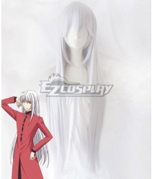 Fruits Basket Season 2 Ayame Sohma Silver White Cosplay Wig