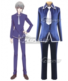 Fruits Basket Season 2 Souma Yuki Cosplay Costume