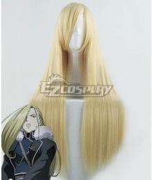 Fullmetal Alchemist Olivier Mira Armstrong Light Golden Cosplay Wig