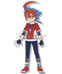 Future Card Buddyfight Ace Yuga Mikado Cosplay Costume