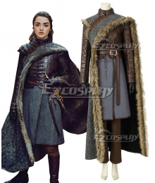 Game of Thrones Season 8 Arya Stark Cosplay Costume