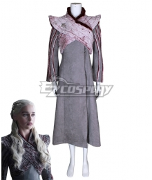 Game Of Thrones Season 8 Daenerys Targaryen Cosplay Costume