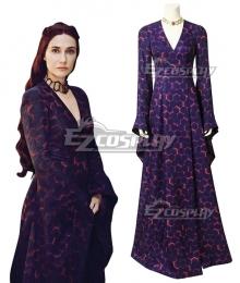 Game of Thrones Season 8 Melisandre Cosplay Costume