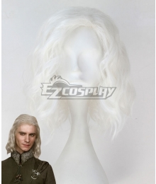 Game of Thrones Viserys Targaryen White Cosplay Wig