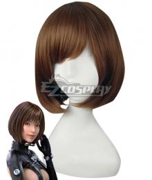Gantz Anzu Yamasaki Brown Cosplay Wig