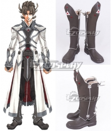 Garo The Animation Guren no Tsuki Raikou Brown Shoes Cosplay Boots