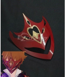 Genshin Impact Childe Tartaglia Mask Headwear Cosplay Accessory Prop