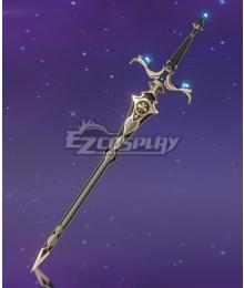 Genshin Impact Kaeya Traveler Jean Keqing Qiqi Xingqiu Royal Longsword Sword Cosplay Weapon Prop