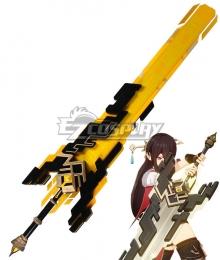 Genshin Impact The Unforged Diluc Razor Noelle Chongyun Beidou Claymores Cosplay Weapon Prop