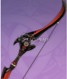 Genshin Impact Venti Fischl Amber Blackcliff Warbow Bow Cosplay Weapon Prop