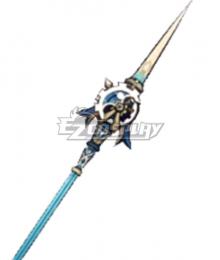 Genshin Impact Xiangling Zhongli Xiao Crescent Pike Polearms Cosplay Weapon Prop