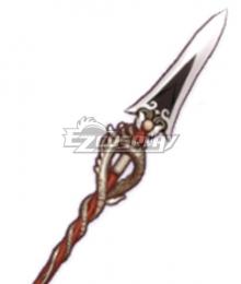 Genshin Impact Xiangling Zhongli Xiao Dragon's Bane Polearms Cosplay Weapon Prop