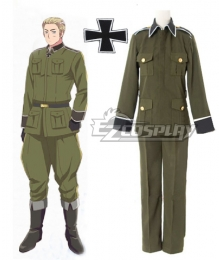 Axis Powers Hetalia Germany Ludwig Cosplay Costume