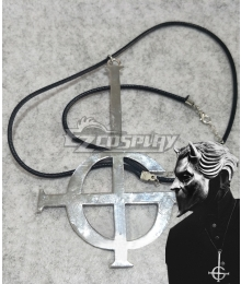 Ghost B.C. Necklace Halloween Party Band Cool Cosplay Accessory Prop