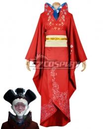 Ghost in the Shell Geisha Kimono Cosplay Costume