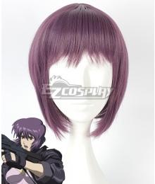 Ghost in the Shell Motoko Kusanagi Purple Cosplay Wig