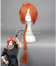 Gintama Kamui Red Orange Cosplay Wig