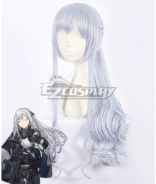 Girls Frontline AK12 Silver White Cosplay Wig