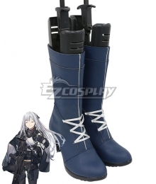 Girls' Frontline AK 12 Dark Blue Shoes Cosplay Boots