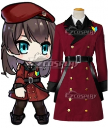 Girls' Frontline Commander Cosplay Costume