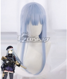 Girls Frontline HK416 Blue White Cosplay Wig