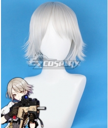 Girls' Frontline KRISS Vector White Cosplay Wig