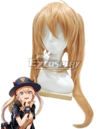 Girls Frontline M870 Golden Cosplay Wig