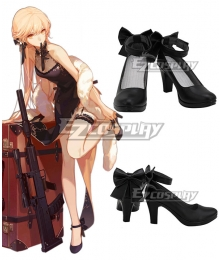 Girls' Frontline OTs-14 Groza Black Cosplay Shoes