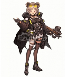 Girls' Frontline AA12 Nighty.Ver Cosplay Costume