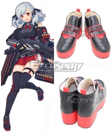 Girls' Frontline SPAS-12 Black Cosplay Shoes