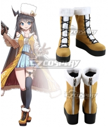 Girls' Frontline Stechkin APS Brown Cosplay Boots