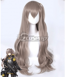 Girls' Frontline UMP45 Grey Brown Cosplay Wig