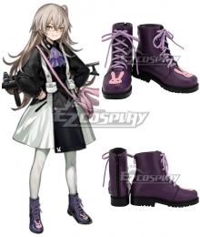 Girls' Frontline UMP45 Purple Pink Cosplay Shoes