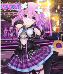 Go! Go! 5D Game Neptunia ReVerse Hyperdimension Neptuna Cosplay Costume
