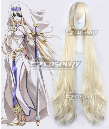 Goblin Slayer Sword Maiden Light Golden Cosplay Wig