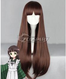 Gochuumon wa Usagi Desu ka? Is the Order a Rabbit? Chiya Ujimatsu Brown Cosplay Wig