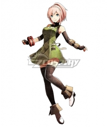 God Eater 2 Rage Burst Kanon Daiba Cosplay Costume