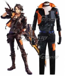 God Eater 3 Hugo Pennyworth Cosplay Costume