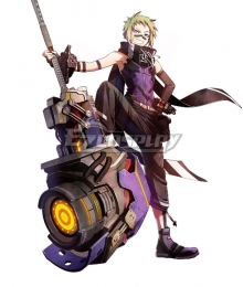God Eater 3 Zeke Pennywort Cosplay Costume
