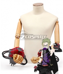 God Eater 3 Zeke Pennywort Gauntlets Cosplay Accessory Prop