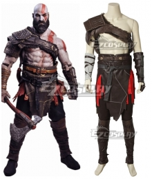 God Of War 4 Kratos Cosplay Costume
